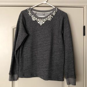 JCrew Gray Sweater